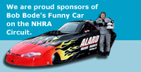 Bob Bode and his Funny Car